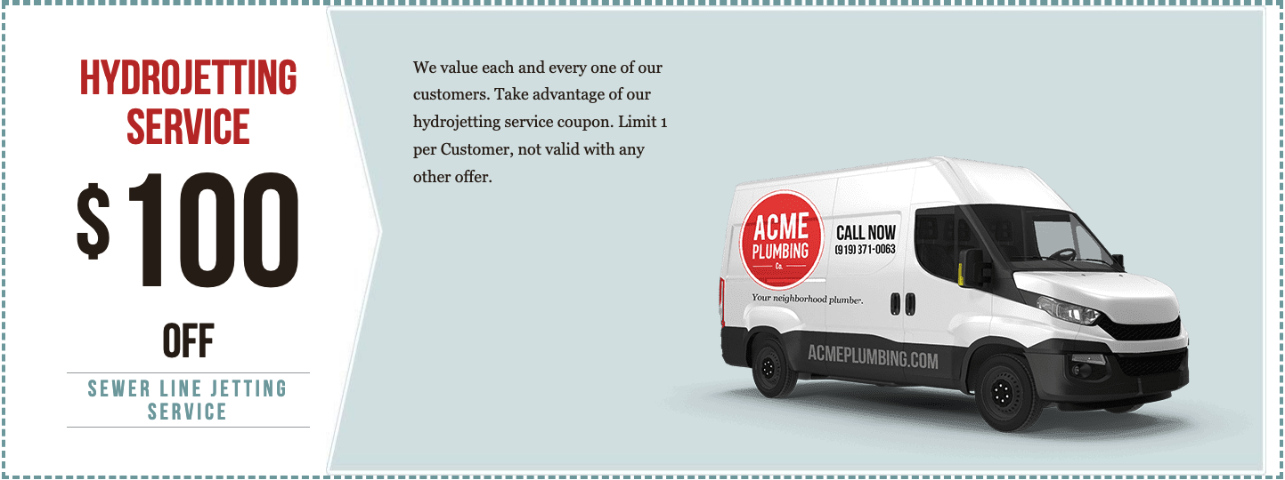 Hydrojetting Coupon acme